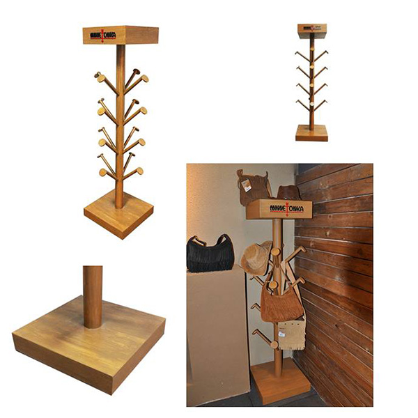 free standing hat display racks