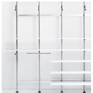 Tension Pole Shelves