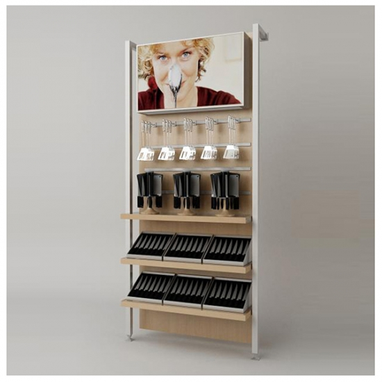 Cookware wall unit display