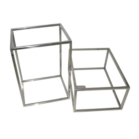 Stainless steel metal box frame for clothing wholesale,manufacturers