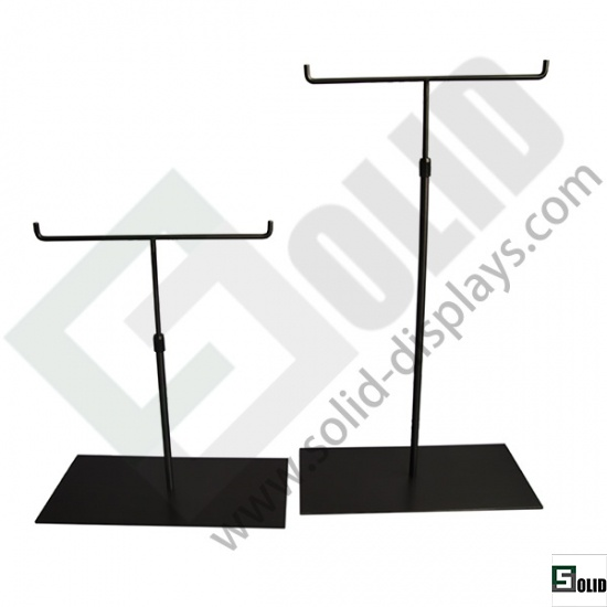 double hand bag display stand